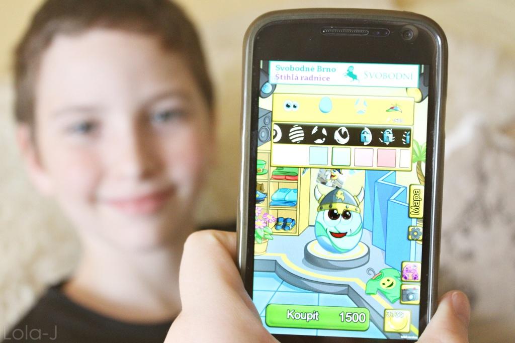 Eggies, hra, mobilní aplikace, tablet, android, ios, novinka, jako Pou, mimozemšťan, vajíčko, vylíhnutí, příšerka, blog, recenze na hru, mladší sourozenec, bráška, bratr, hra v telefonu, samsung, nexus, google, apple etc., lola-j