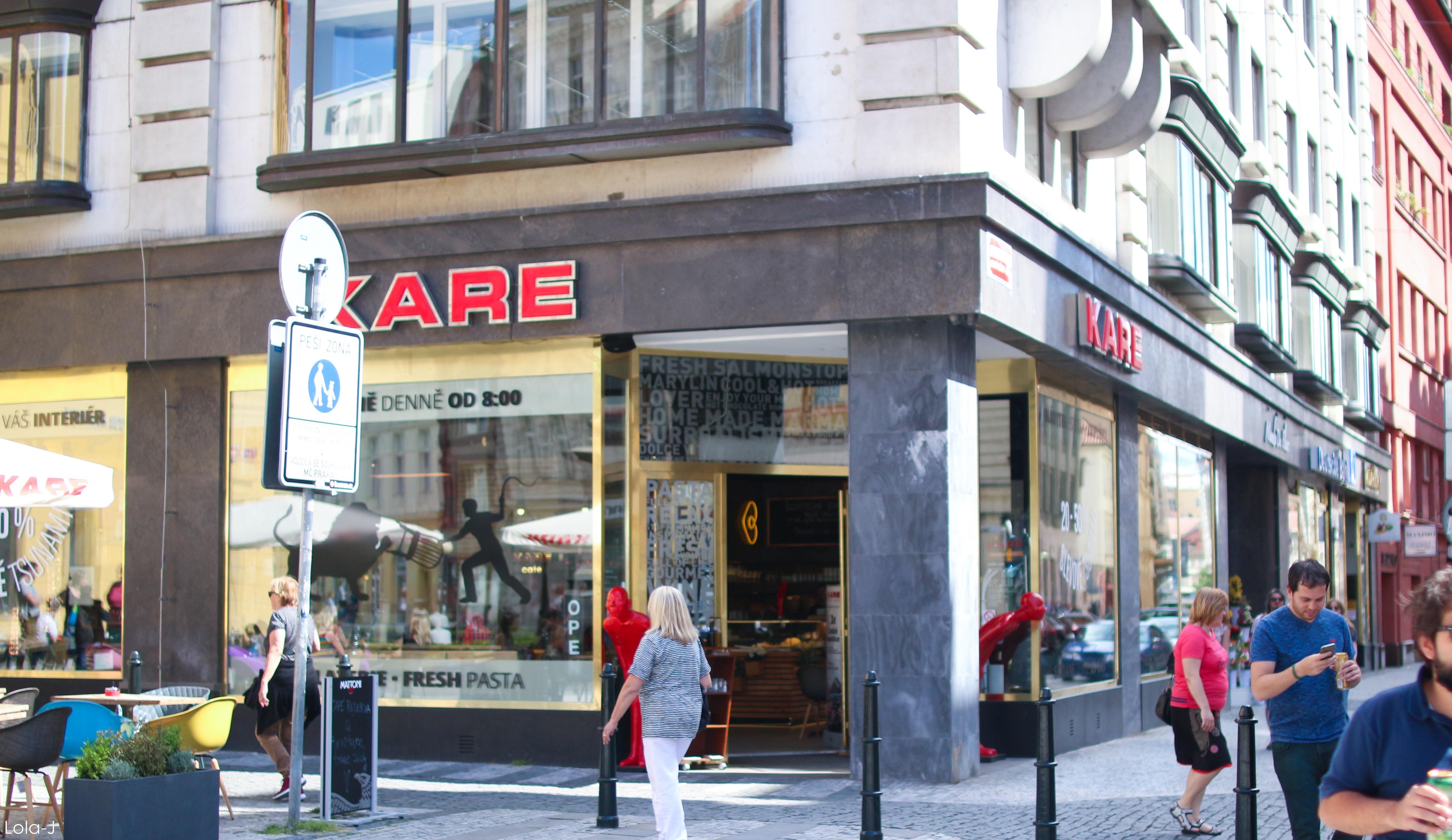 Kam Na Jídlo V Praze: KARE Café
