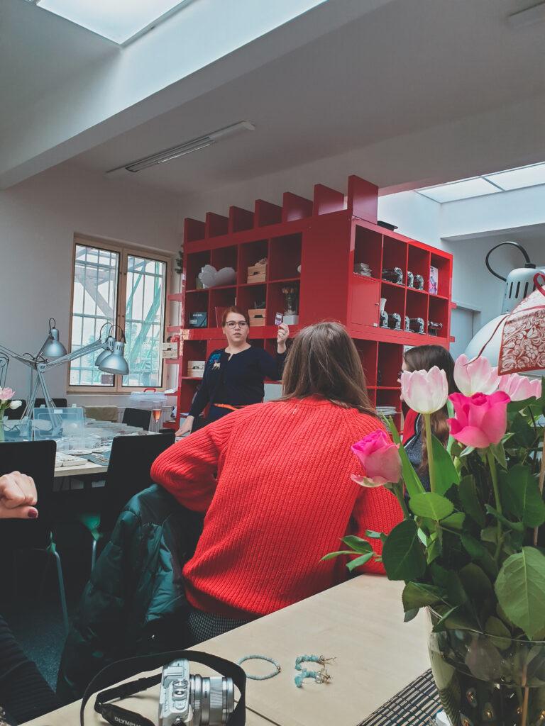 Korálky.cz, kreativní workshop, výroba korálků, bloggerský event, událost pro blogerky